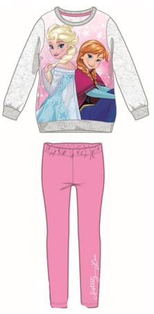 Disney by Arnetta dívčí set Frozen 122 sivá