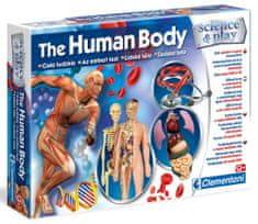 Clementoni laboratorium dla dzieci - ludzkie ciało