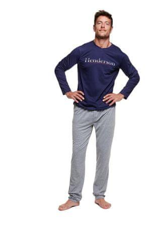 Henderson Férfi pizsama 37296 Viking, sötét kék, L