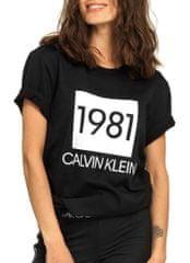 Calvin Klein Dámske tričko S / S Crew Neck QS6343E-001