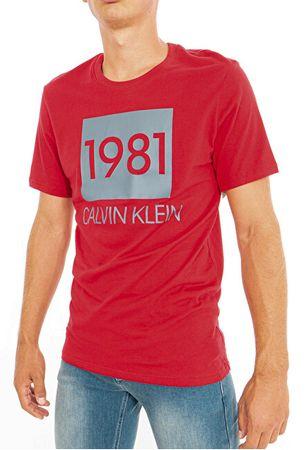 Calvin Klein Koszulka męska S / S Crew Neck NM1708E-1XY (rozmiar M)