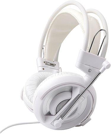 E-Blue słuchawki do gier Cobra I, białe (EHS013WH)