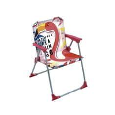 Cdiscount skládací židle s područkami s motivem plameňáka