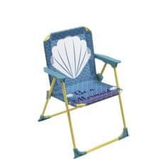 Cdiscount skládací židle s područkami s motivem mořské panny