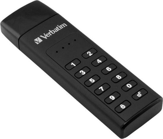 VERBATIM Keypad Secure Drive USB 3.0 128 GB (49429)