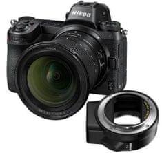 Nikon Z 6 digitalni brezzrcalni fotoaparat + NIKKOR Z 14-30 + FTZ adapter