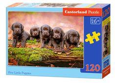 Castorland Puzzle 120 db Puppies
