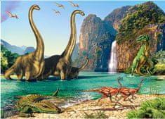Castorland Dinosaurí svet 60 dielikov