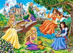 Castorland Princesses in garden 180 dielikov