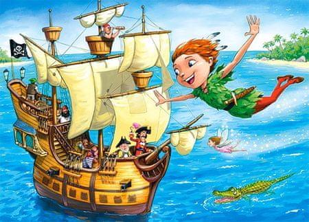Castorland Puzzle 120 db Peter Pan