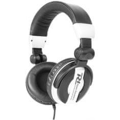 Power Dynamics  PH200, DJ stereo sluchátka černobílá