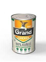 GRAND Deluxe 100% KUŘECÍ JUNIOR 400g