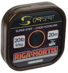Carp Spirit Riga Mortis-Chod Hoolink Lo-Vis Brown 20m 25lb