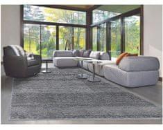 Diamond Carpets Ručně vázaný kusový koberec Diamond DC-MAMLOOK jeans blue/black