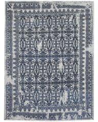 Diamond Carpets Ručně vázaný kusový koberec Diamond DC-JK 7 Silver/denim
