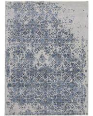 Diamond Carpets Ručne vázaný kusový koberec Diamond DC-JK 3 Silver/blue