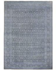 Diamond Carpets Ručně vázaný kusový koberec Diamond DC-HALI B Light grey/blue