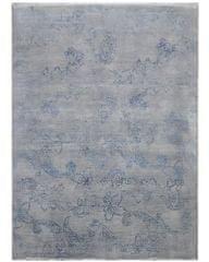 Diamond Carpets Ručně vázaný kusový koberec Diamond DC-KERRY 2 Silver/blue