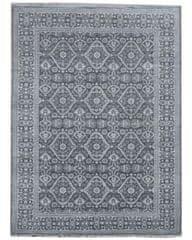 Diamond Carpets Ručně vázaný kusový koberec Diamond DC-HALI B Grey/silver