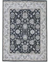 Diamond Carpets Ručne vázaný kusový koberec Diamond DC-98 JN Black/ivory