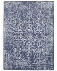 Diamond Carpets Ručně vázaný kusový koberec Diamond DC-JK 1 Jeans blue/silver