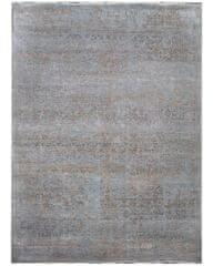 Diamond Carpets Ručne vázaný kusový koberec Diamond DC-JK 1 Silver/mouse