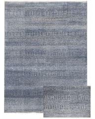 Diamond Carpets Ručně vázaný kusový koberec Diamond DC-MCN Medium blue/silver