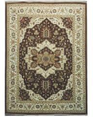 Diamond Carpets Ručne vázaný kusový koberec Diamond DC-SIRAPI Brown/ivory