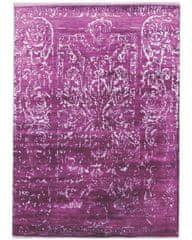 Diamond Carpets Ručně vázaný kusový koberec Diamond DC-JK 2 Purple/silver (overdye)