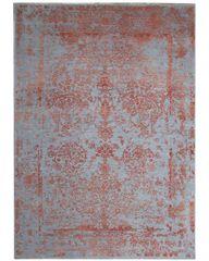 Diamond Carpets Ručně vázaný kusový koberec Diamond DC-JK ROUND Silver/orange