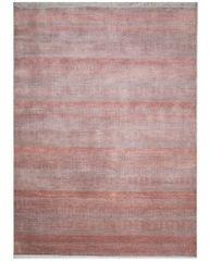 Diamond Carpets Ručně vázaný kusový koberec Diamond DC-MCN Silver/m.red