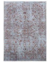 Diamond Carpets Ručně vázaný kusový koberec Diamond DC-SIRAPI Silver/copper