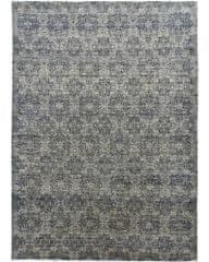 Diamond Carpets Ručně vázaný kusový koberec Diamond DC-JK 1 SILVER/BLACK