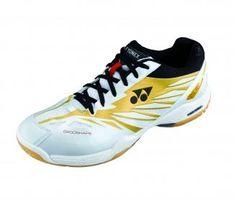 Yonex Pánská sálová obuv SHB F1LTD White/Gold