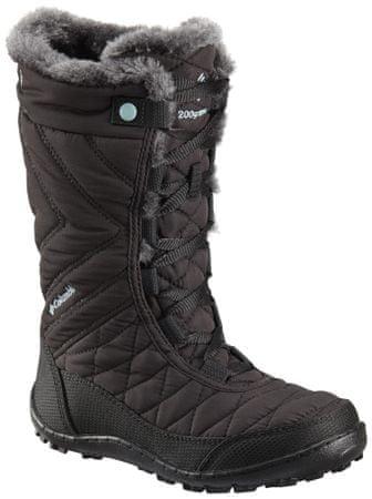 COLUMBIA dziewczęce buty zimowe YOUTH MINX MID III 34 czarne