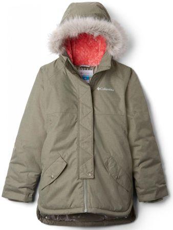 Columbia jakna za djevojčice Carson Pass, 152, kaki