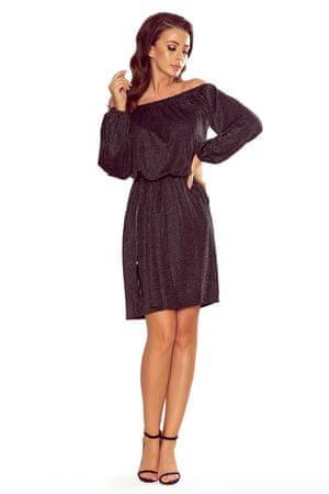 Numoco Női ruha 270-2, fekete, XL