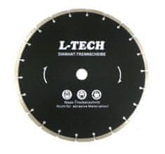 GEKO Diamantový řezný kotouč segmentový, 350x8x25,4mm