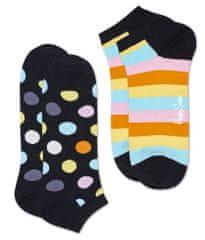 Happy Socks Big Dot Low Sock dvostruko pakiranje uniseks čarapa