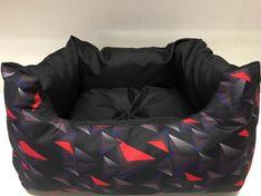 Kutya ágy Triangl Black 80cm x 70cm