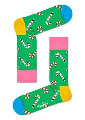 Happy Socks unisex ponožky Candy Cane Sock CCA01-7300