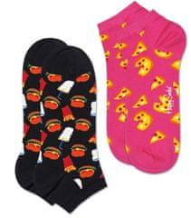 Happy Socks 2-Pack Pizza Low Sock dvostruko pakiranje uniseks čarapa