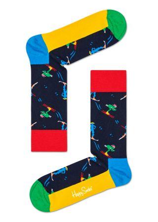 Happy Socks unisex ponožky Skiers Sock SKI01-6500 36 - 40 vícebarevná