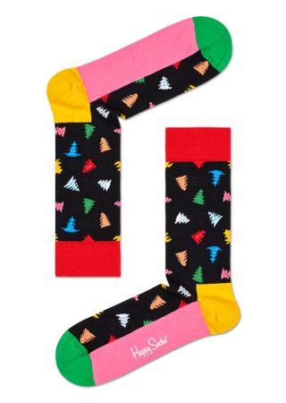 Happy Socks unisex ponožky Trees And Trees Sock TAT01-9300 36 - 40 vícebarevná