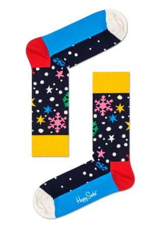 Happy Socks unisex ponožky Twinkle Twinkle Sock TWI01-6500 36 - 40 vícebarevná