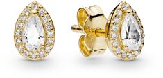 Pandora Aranyozott fülbevalók kristályokkal 266252CZ ezüst 925/1000