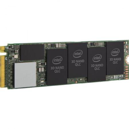 Intel 660p Series SSD disk, 512GB, PCI-e NVMe M.2