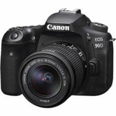 Canon EOS90D + 18-55 IS STM fotoaparat + objektiv