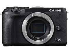 Canon EOS M6 Mark II fotoaparat, črno ohišje