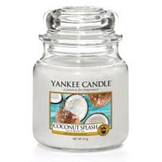 Yankee Candle Aromatická svíčka Classic střední Kokosové osvěžení (Coconut Splash) 411 g